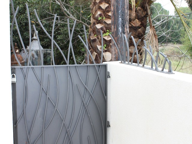 Wrought Iron Pergola & Security Fencing on the Cap d'Antibes