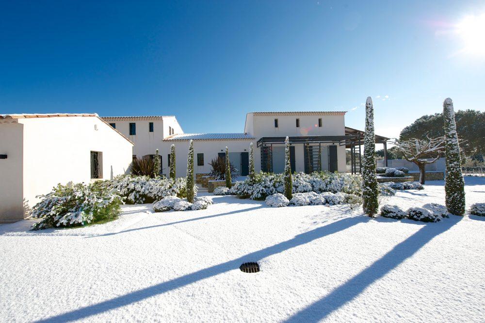 Vaste projet de fer forgé dans une villa de luxe à Saint-Tropez