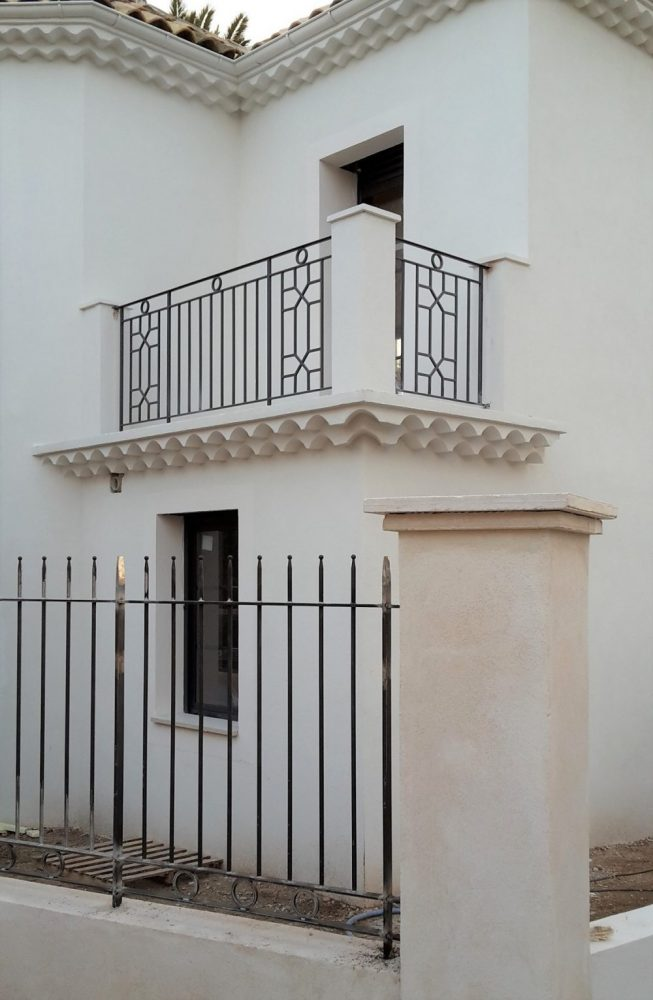 Balcony railing and fence