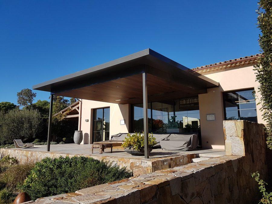 Flat roof Pergola (3)